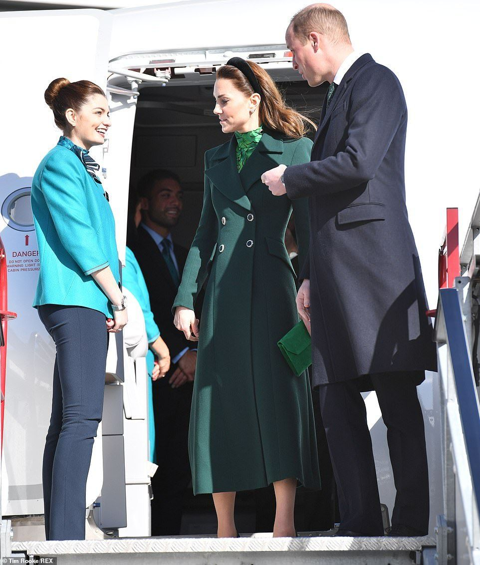 Middleton Love (William and Kate flew to Dublin Airport on