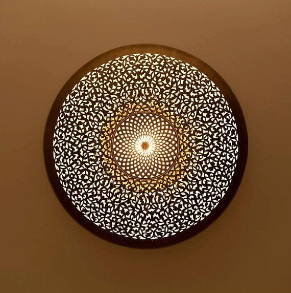 Moroccan lampshade traditional ceiling light indoor moroccan