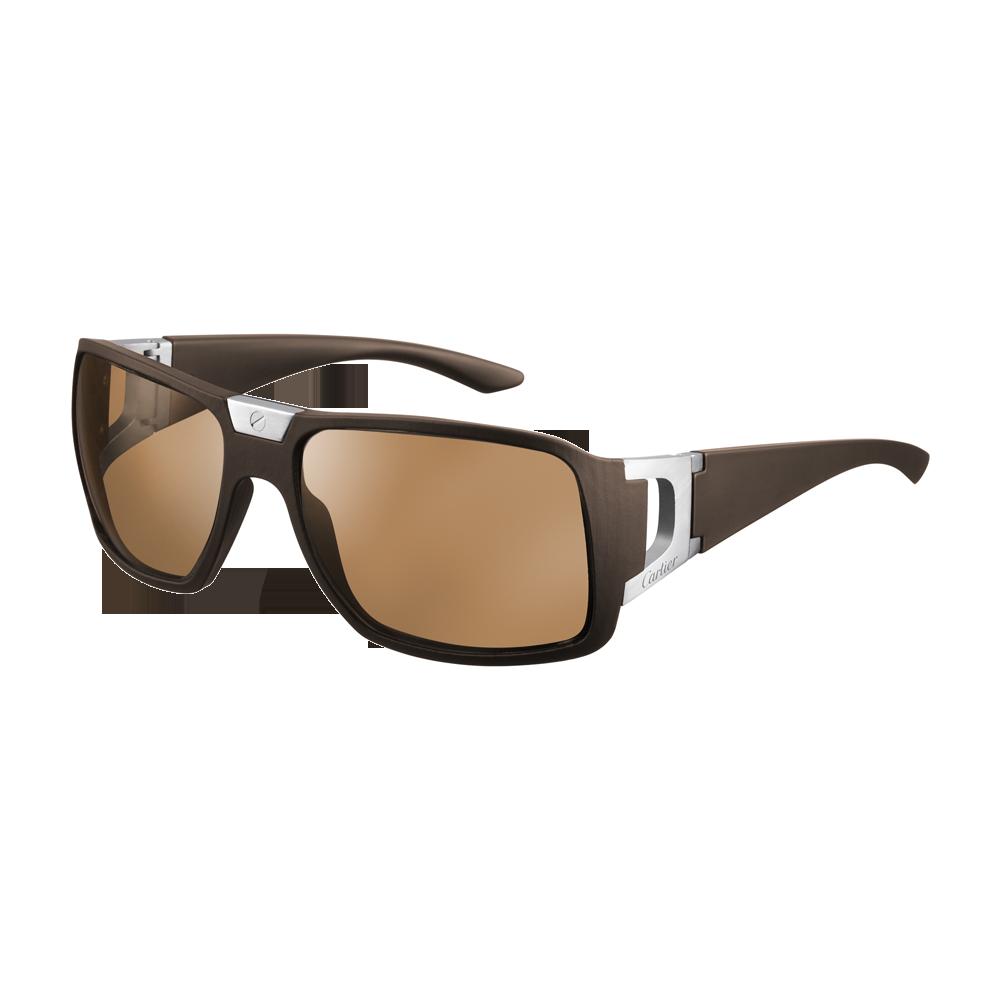 ba22543287 Santos de Cartier Sport rimmed sunglasses