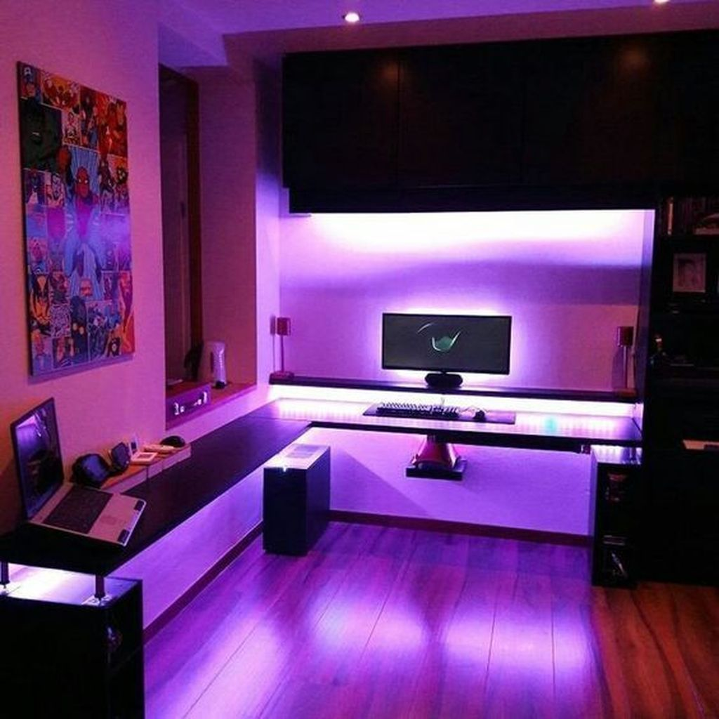 Stunning Gaming Setup Ideas For Your Bedroom That Will Amaze You 19 Video Game Room Design Gamer Room Diy Game Room Design