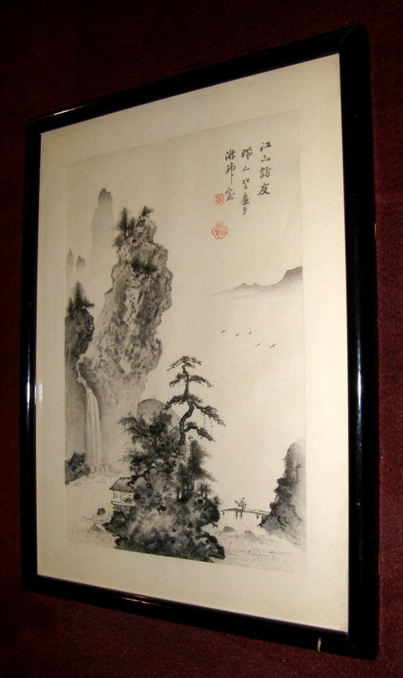 Original Woodblock print by well known Japanese by ArtDelightful