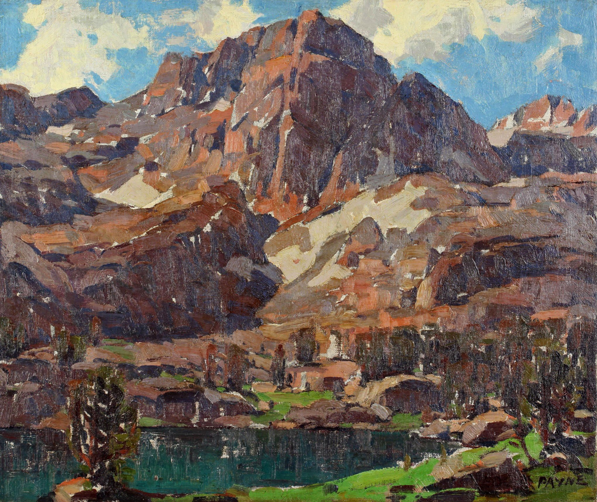 Edgar Payne Sierra Splendor Landscape Painting Artwork