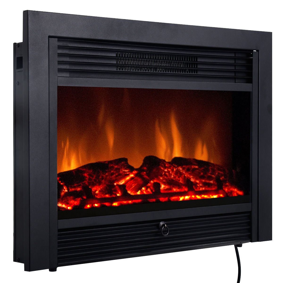 Walmart Black Electric Fireplace 23