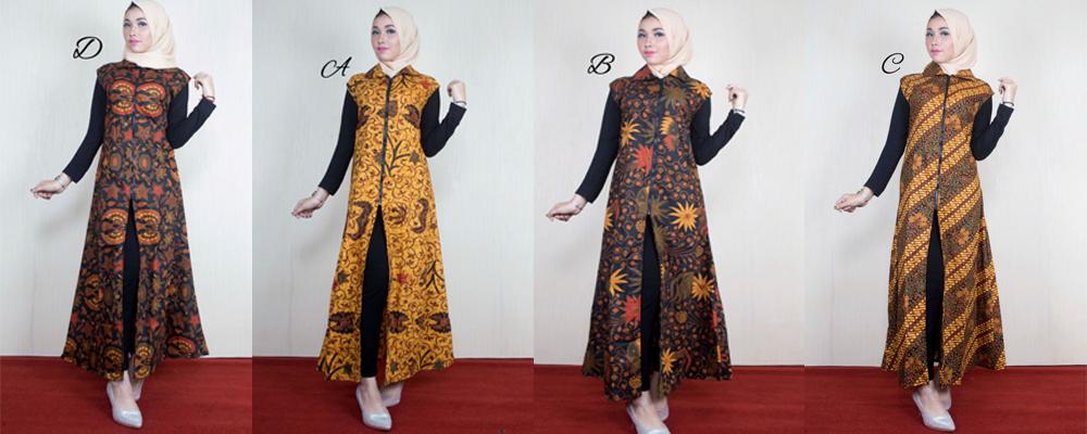 Pin oleh Batik Bagoes Solo di Women Dress Kimono top