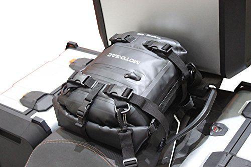 Moto Motorcycle Rear Bag 10l Dry Sac Black Universal Tank kiOXPZTu