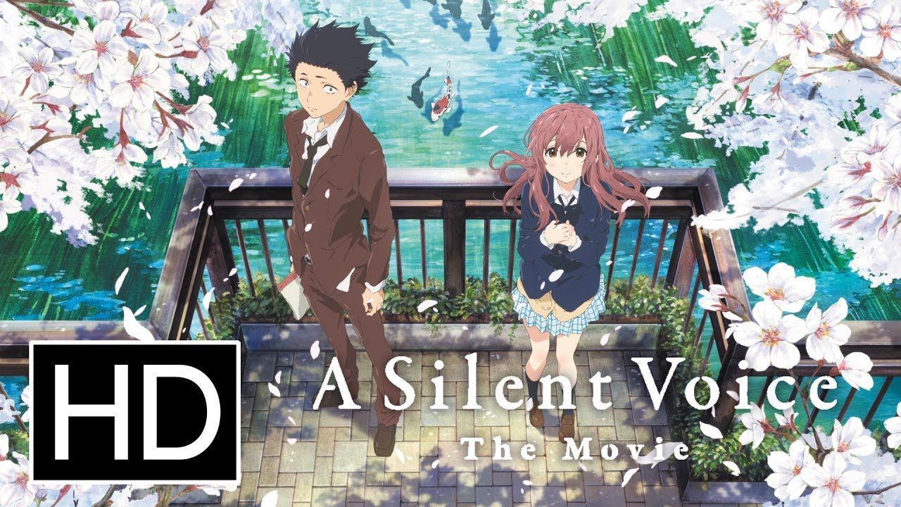 A Silent Voice Official Trailer Youtube Anime Movies Kyoto Animation Cool Animations