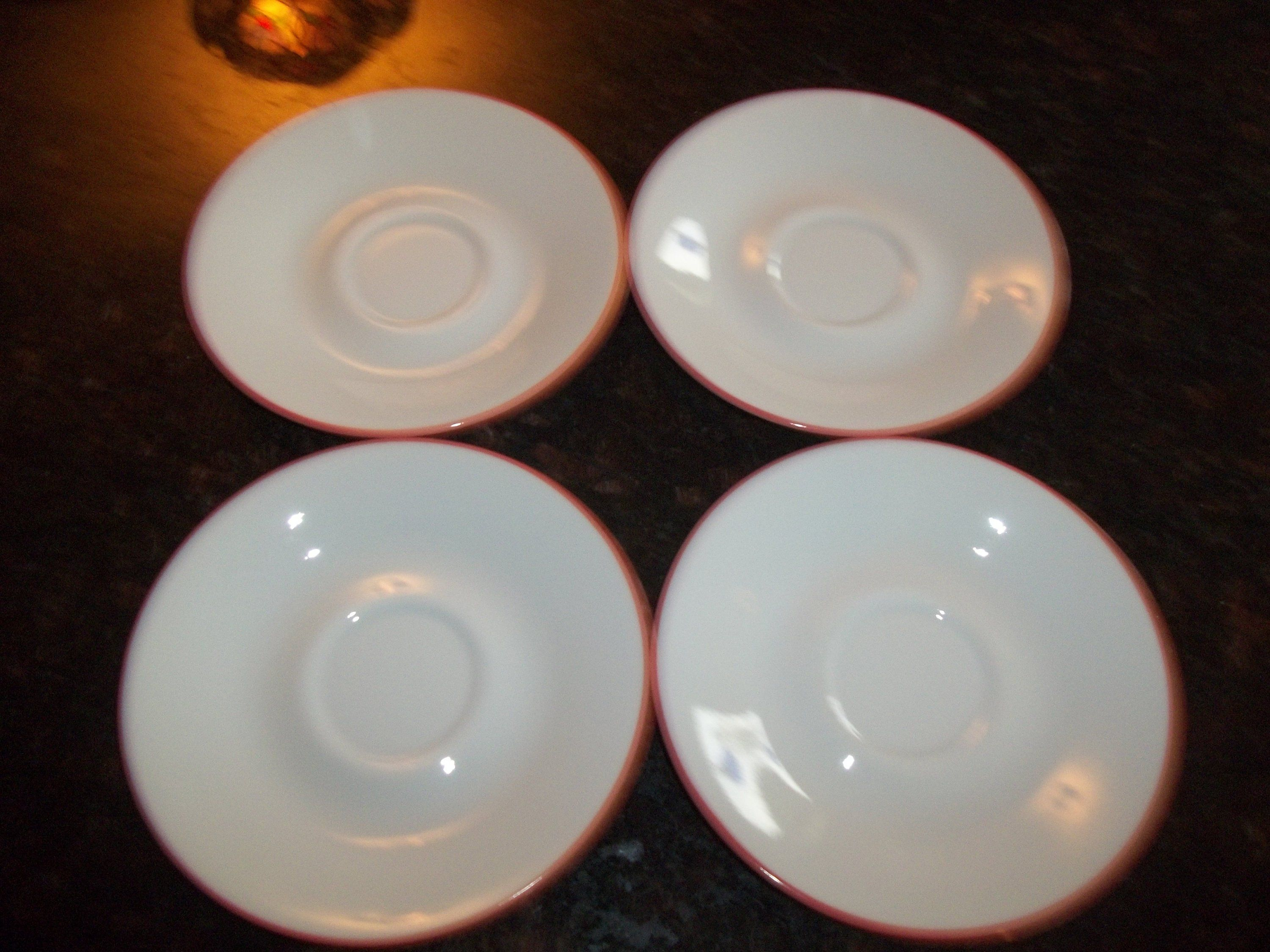 4 Corelle Sand Art CupsMugs Made in the USA