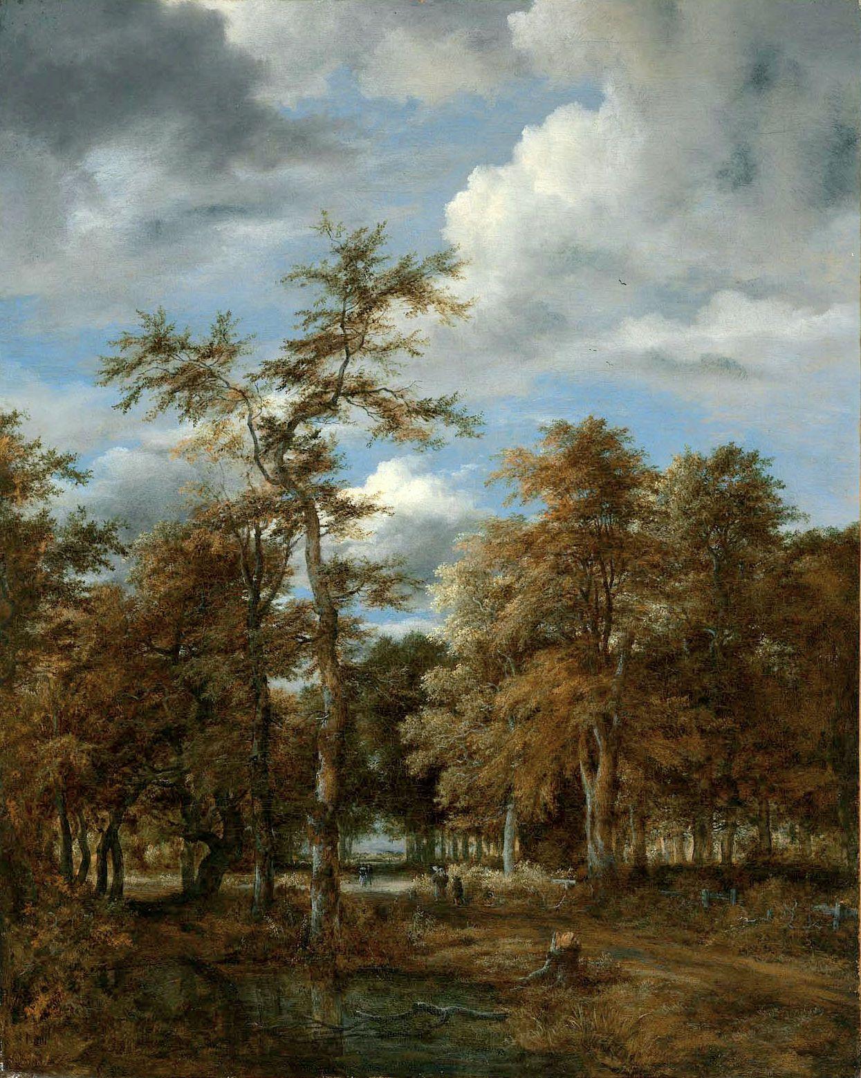 Jacob Van Ruisdael Elsewhere Landscape Paintings Museum Of Fine Arts Landscape
