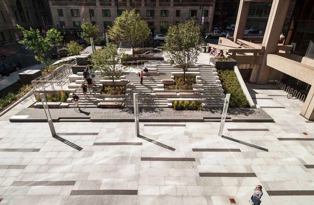 Pin By Dieter Muller On Architektur Contemporary Landscape Design Plaza Design Landscape Plaza