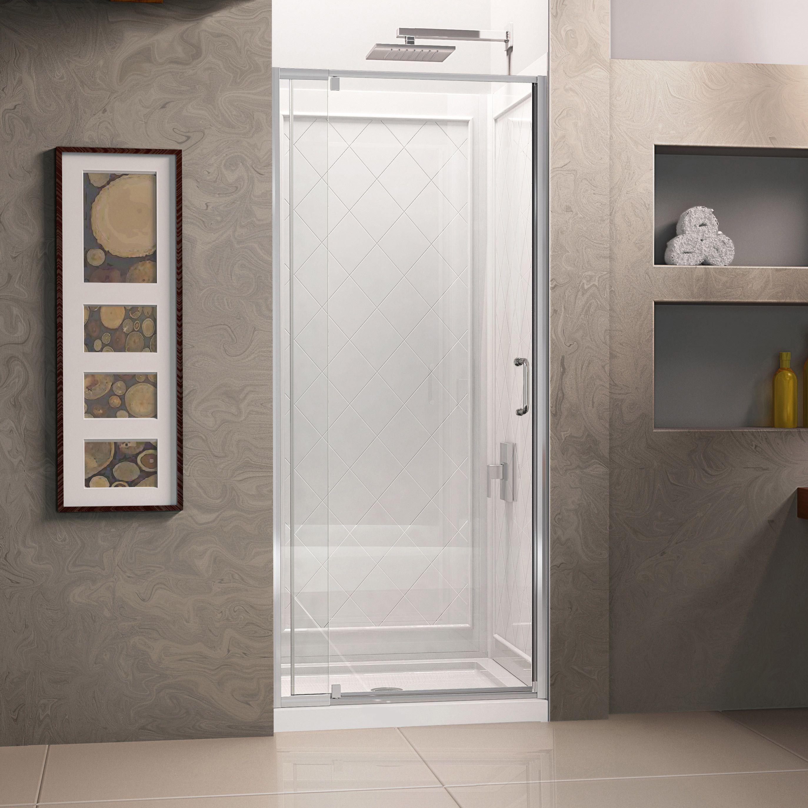 Dreamline Flex 32 In D X 32 In W X 76 3 4 In H Pivot Shower