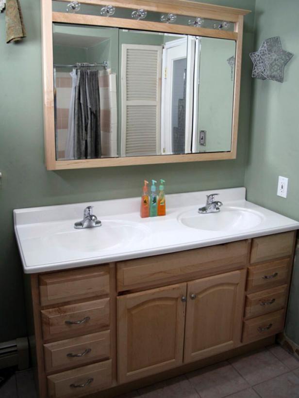Installing A Bathroom Vanity Tiny Cabin Bathroom Bathroom