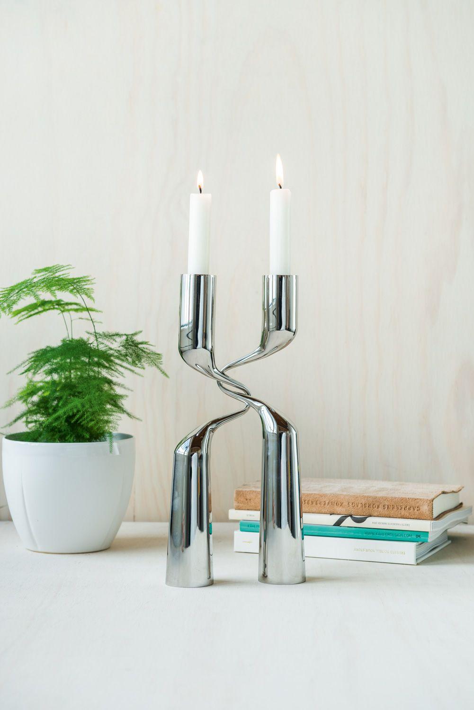 Storslått Ønsker du en gave du blir husket for? Double lysestake fra Menu er UO-69
