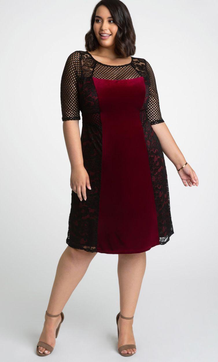 Mixed Lace Cocktail Dress-Sale!  Cocktail dress lace, Plus size