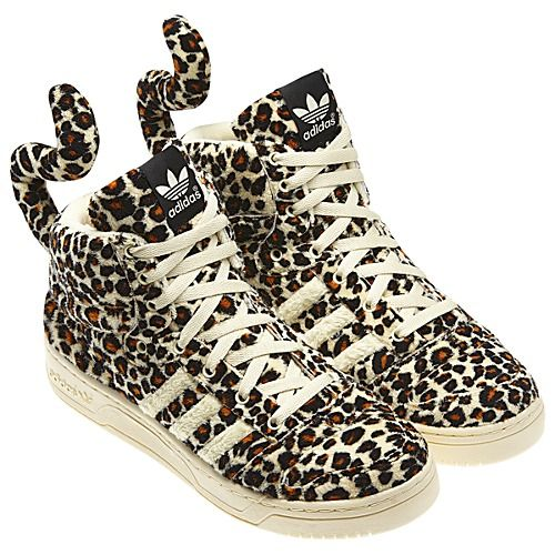 95462de4c5509 Adidas Originals    Jeremy Scott Leopard Tail     sneakers ...