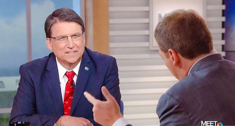 Chuck Todd hammers NC governor over bathroom law: 'You guys debated for like 10 seconds'