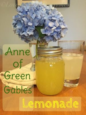 Love My Messy Messy Mess: Anne of Green Gables Lemonade