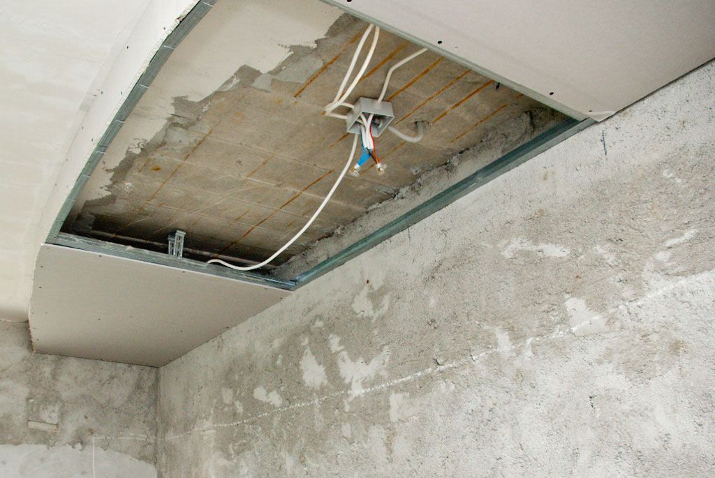 How to build a drywall ceiling arch | Drywall ceiling and Drywall