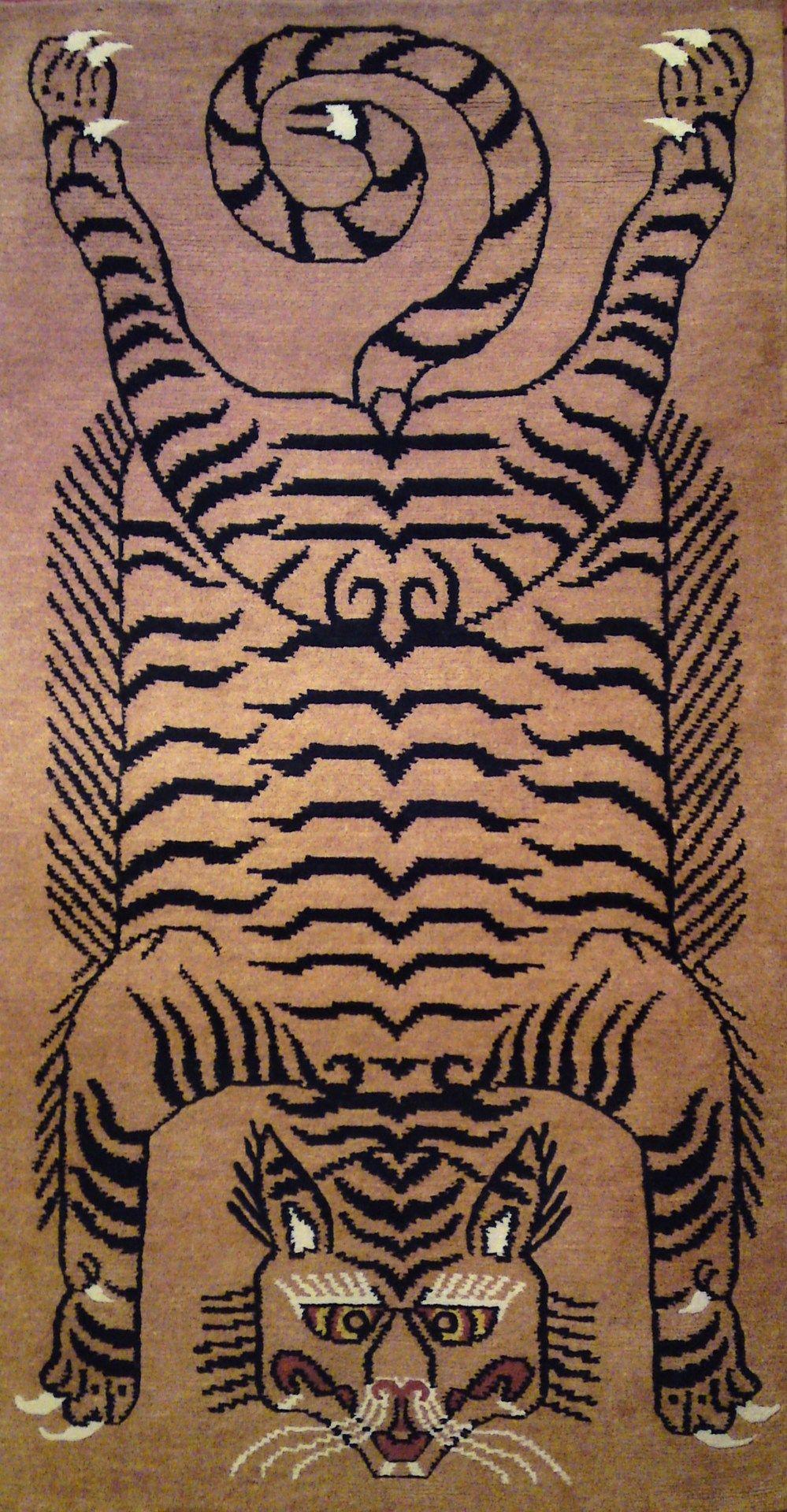 Tibetan Tiger Rugs On Pinterest Rugs Tibet And Carpets