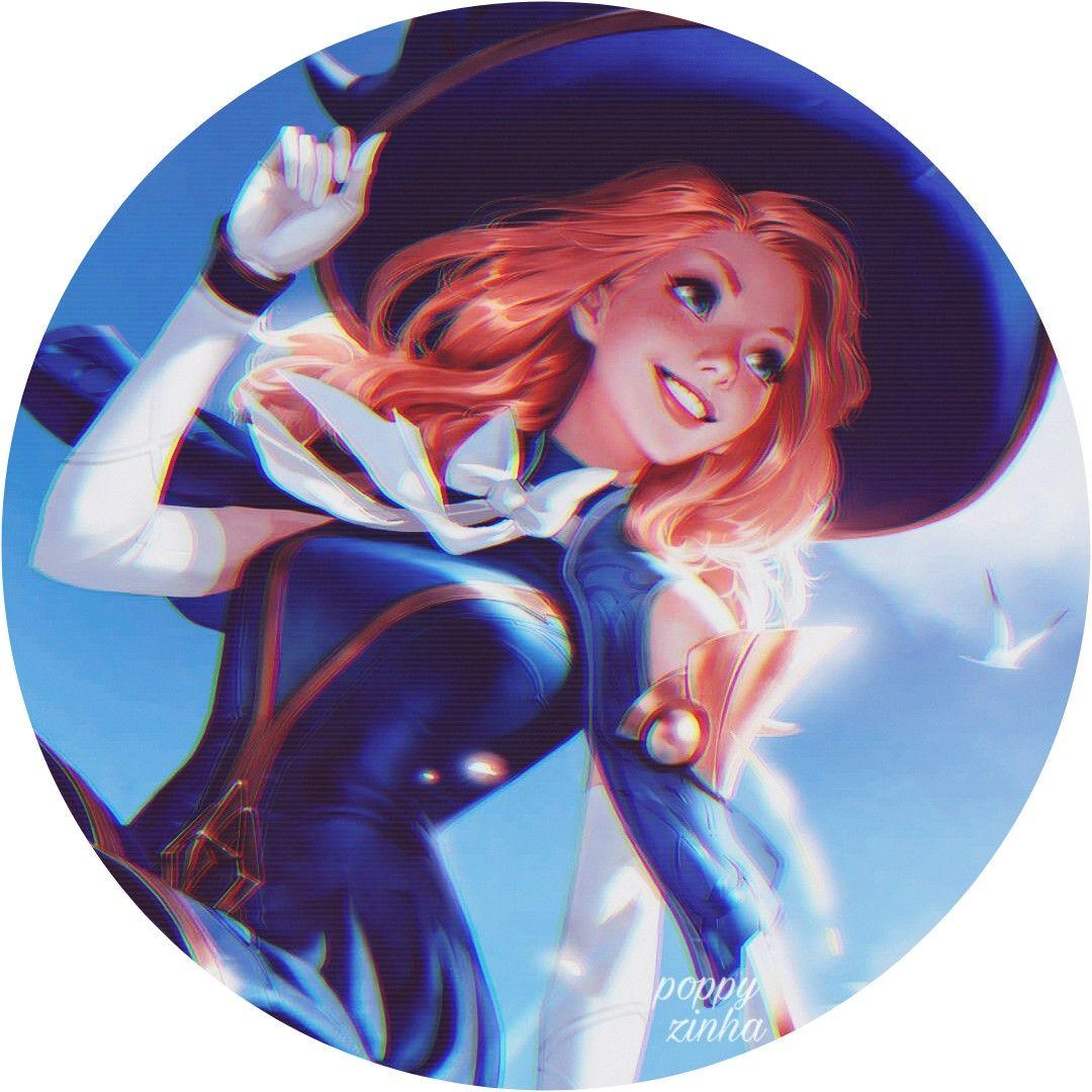 Pin de Alice Cruise em ⊹゛Icσηs ༊ em 2020 Animes feminino