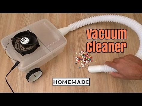 How to Make a Vacuum Cleaner - Homemade | electric