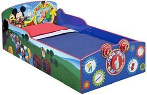 Delta Children Interactive Wood Toddler Bed, Disney Mickey Mouse only $109.99 from https://www.amazon.com/Delta-Children-Interactive-Toddler-Disney/dp/B00TR5A8HE/ref=as_li_ss_tl?_encoding=UTF8&refRID=7638QB7P3JRRPZKRVGJ3&th=1&linkCode=ll1&tag=pinhome-20&linkId=2da366f640cb74ebe2585b39cd074066