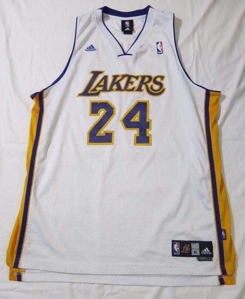 c5411e7fd ... Adidas Kobe Bryant 24 L.a Lakers NBA Sewn Logo Jersey Size Xl from 40.0.