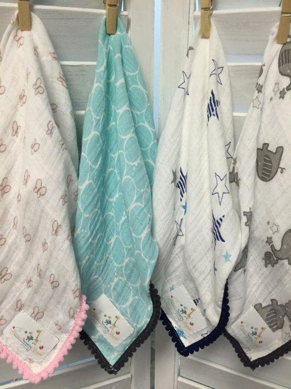 Gauze Security Blanket Swaddles Blankets Muslin Baby