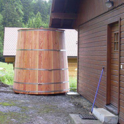 Installer un récupérateur du0027eau de pluie Rain barrels, Marie - recuperation eau de pluie maison
