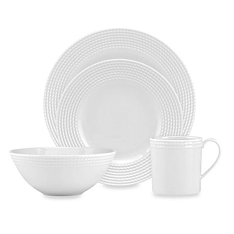 The chic simplicity of kate spade new yorku0027s Wickford Dinnerware makes it ideal for everyday dining  sc 1 st  Pinterest & kate spade new york Wickford™ Dinnerware Collection | Dinnerware ...