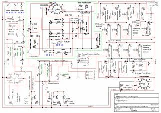 BOEING 737NG Overhead Circuit Diagram (With images