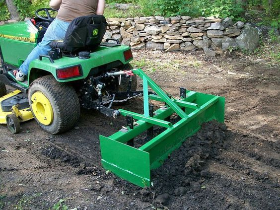 Downloadable Plans Will Be Emailed To You Immediately These Plans Are To Make Your Own 4 Box Blade I Pull Garden Boxes Diy Garden Tractor Tractor Attachments