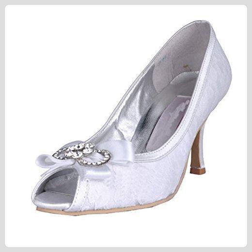 sale retailer 928df cdf76 Kevin Fashion , Damen Hochzeitsschuhe , Weiß - Weiß - Weiß ...
