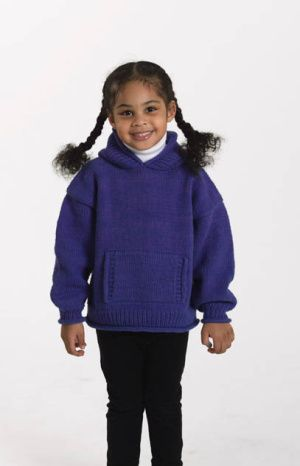 Free knitting pattern childs hooded sweater knitting pinterest free knitting pattern childs hooded sweater dt1010fo