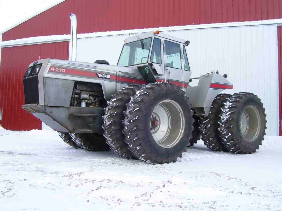 White Tractor Rims : White the biggest wd tractor built farm