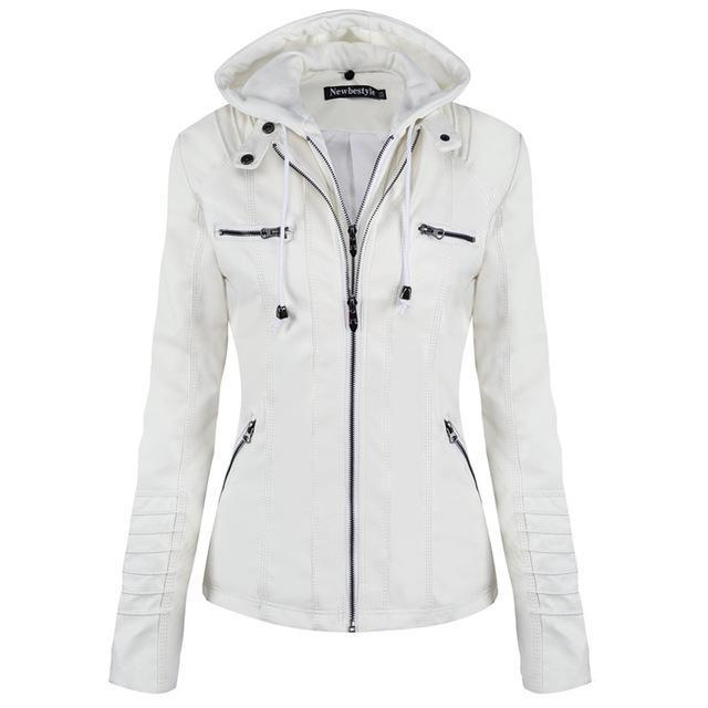 31effaef7 Ladies' Soft Zipper Jacket with Detachable Hat in 2019 | Products ...