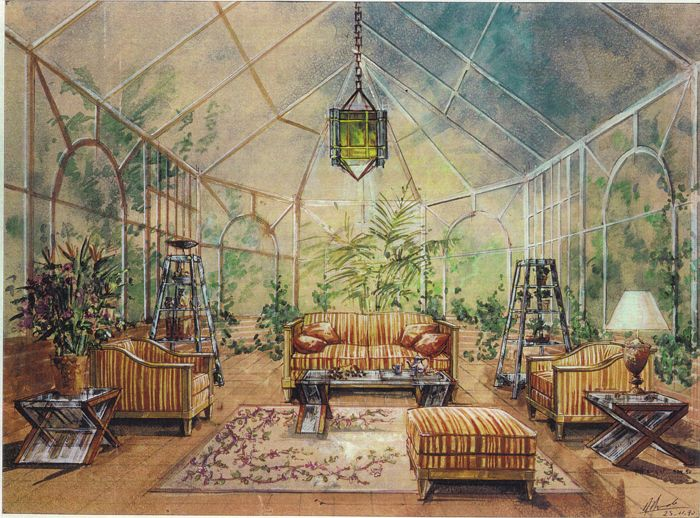 Projet de jardin d\'hiver style contemporain Architecte et ...