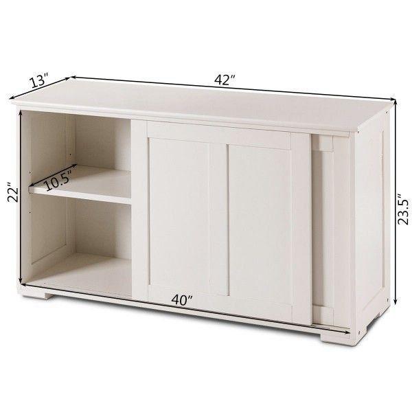 Kitchen Storage Cupboard Cabinet With Sliding Door 1000 Kitchen Furniture Storage Kitchen Cupboard Storage White Storage Cabinets