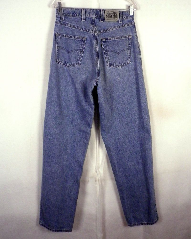5f7133d9 vtg 90s NWOT Levis Silvertab Men's Baggy Loose Denim Jeans USA made MINT 32  X 34