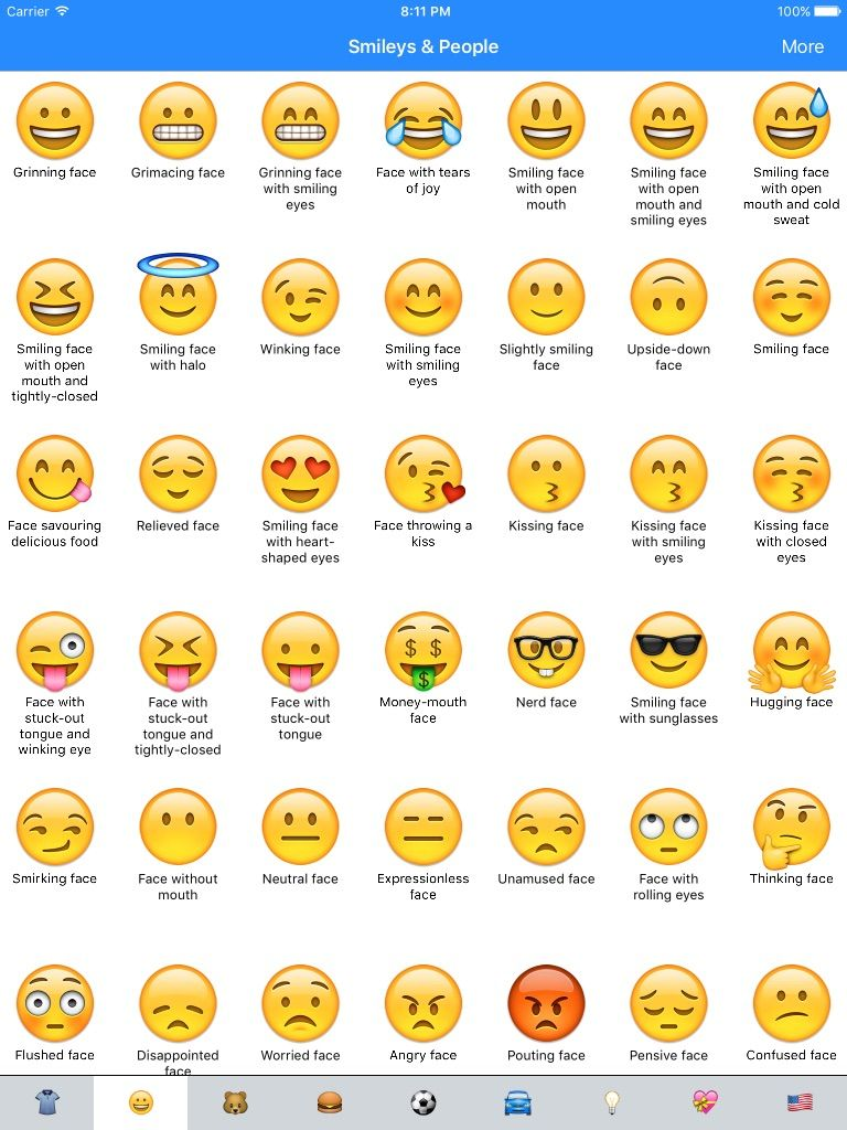 Emoji Meaning Dictionary List App Ranking and Store Data