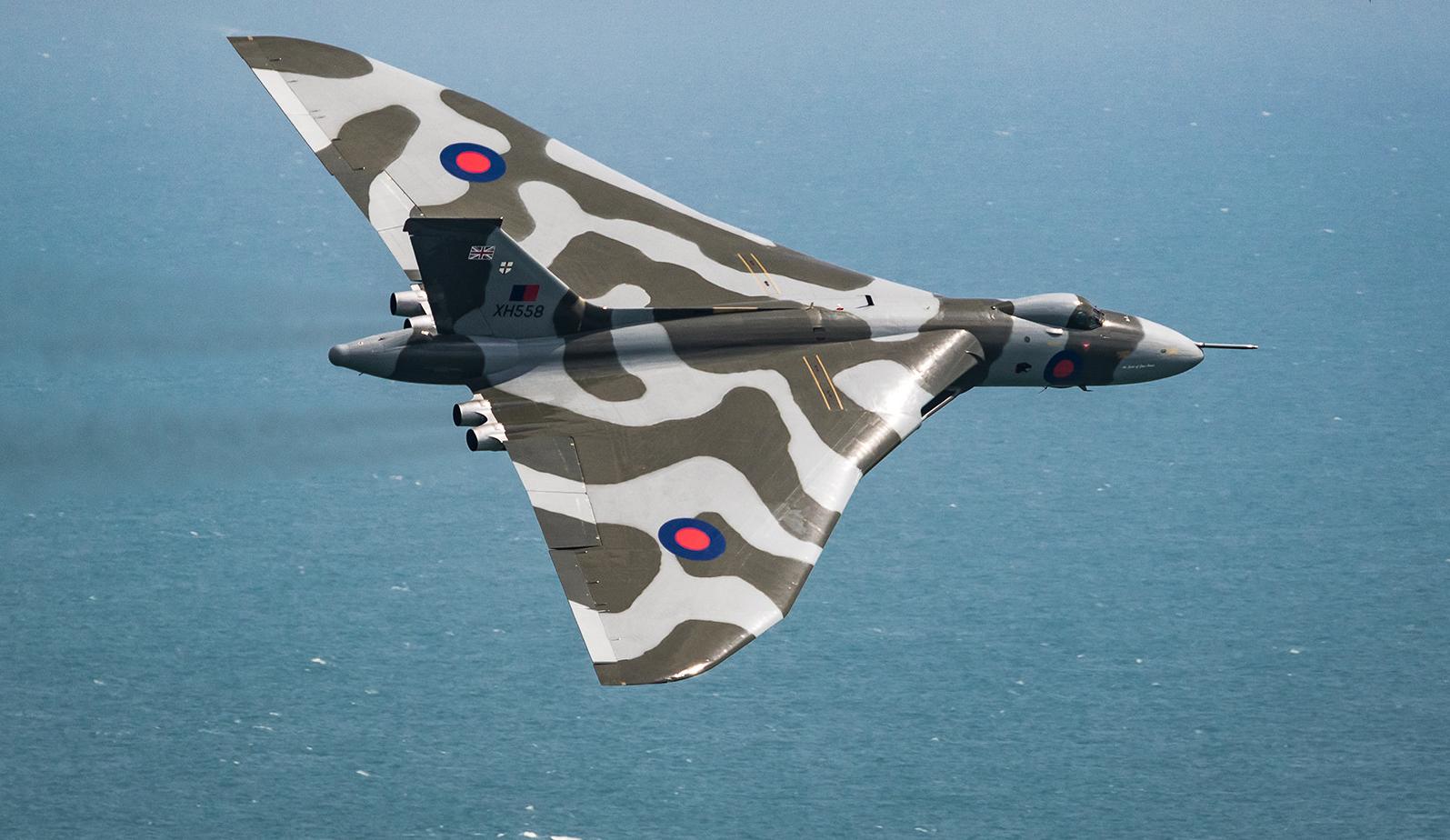 Обои Vulcan, Самолёт, bomber. Авиация