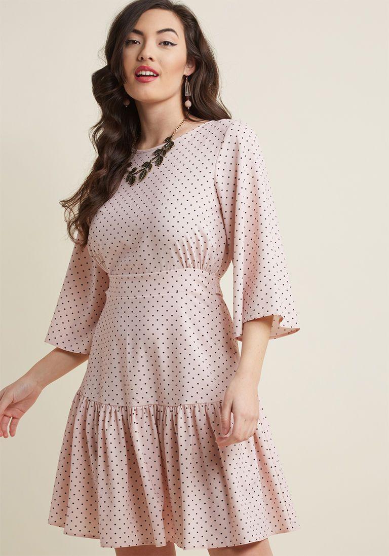 Closet London Ladylike It or Not Bell Sleeve Dress in 8