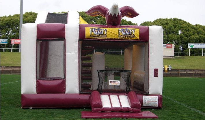 Jumping castle Hire Sydney Footy Jumping Castles Offers Low