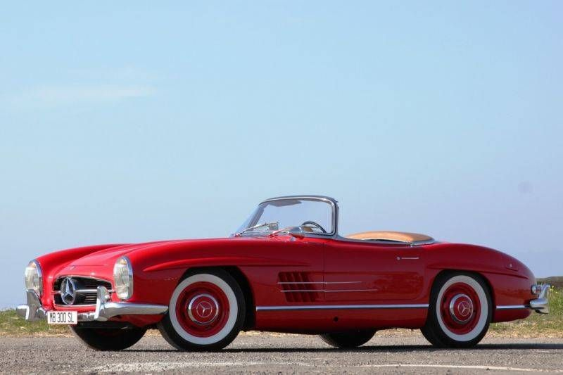 Velour Red 300sl Roadster Photo By Stephan Bauer Blacklist