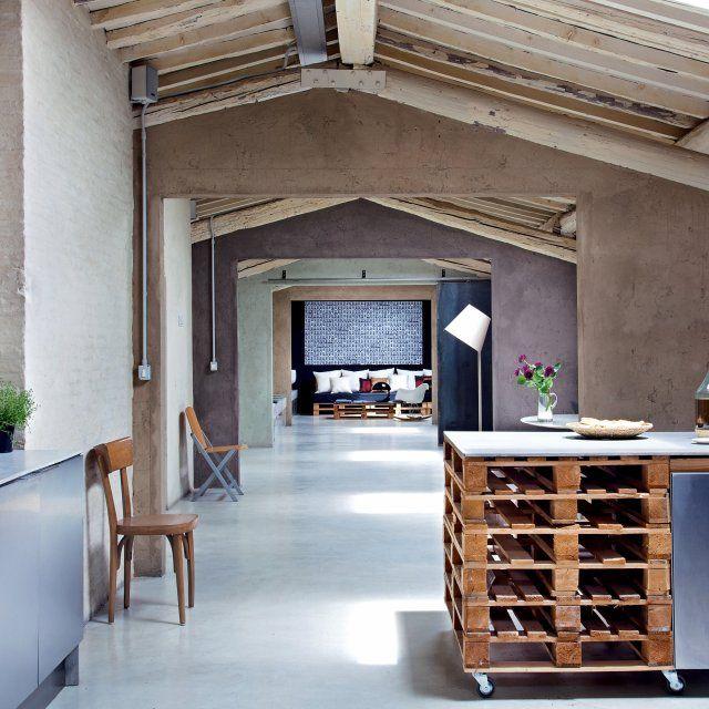 Cuisine Vintage De Idées Déco Pour Lui Donner Un Style - Cuisine deco design pour idees de deco de cuisine