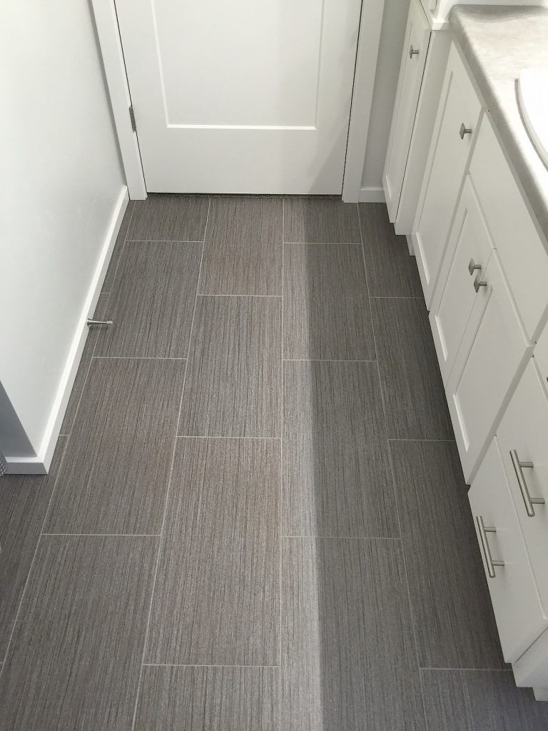 Bathroom floor vinyl tiles - Luxury Vinyl Tile Alterna 12x24 In Urban Gallery Loft Grey Vinyl Flooring Bathroomkitchen