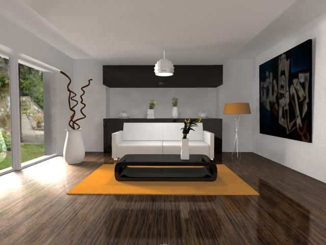 Imagen sala de dise o minimalista apartamento citadino for Diseno de interiores de casas modernas minimalistas