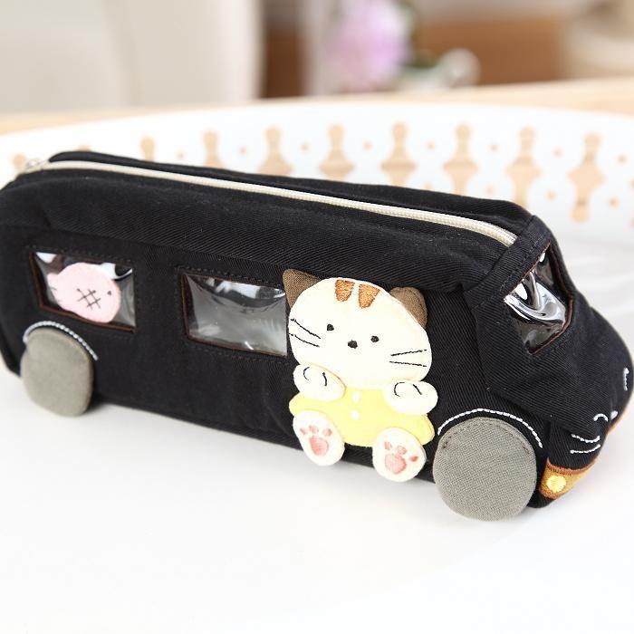 Kiro cat cosmetic bag large capacity travel women's candy ...