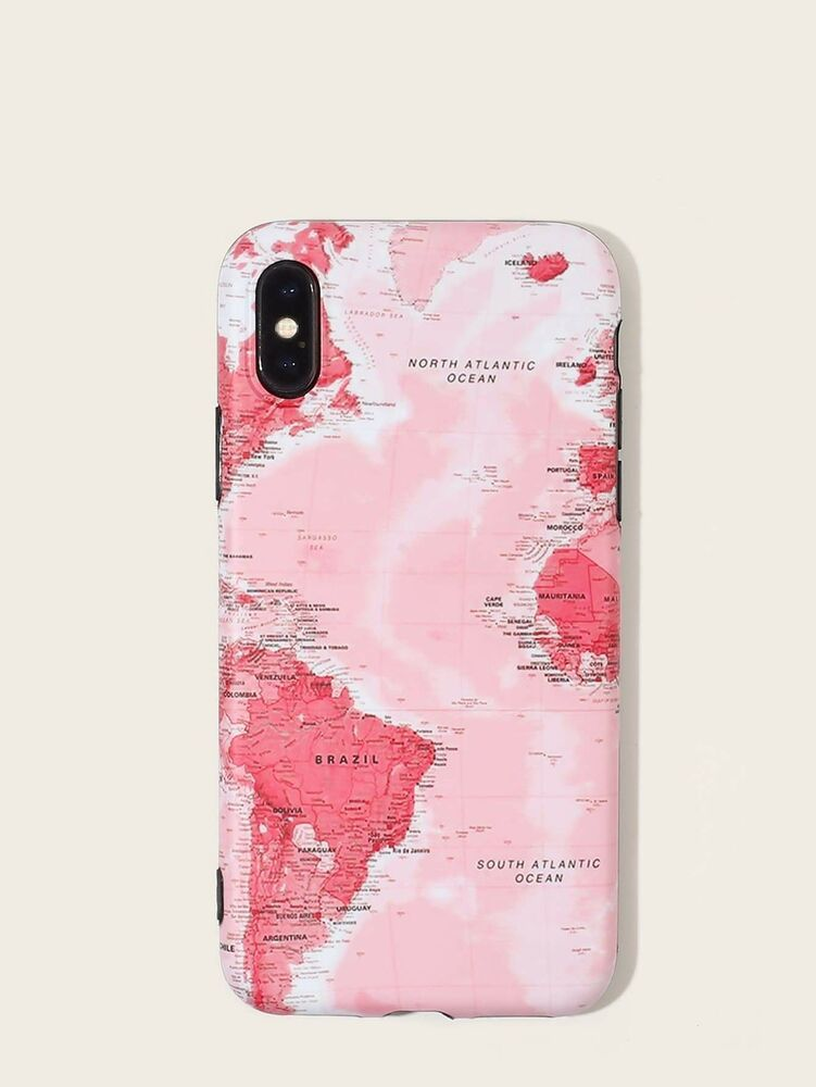Map Pattern iPhone Case Undisclosed Pattern iphone case