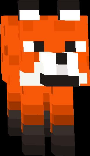 minecraft fox face fall pinterest zombie princess fox girl