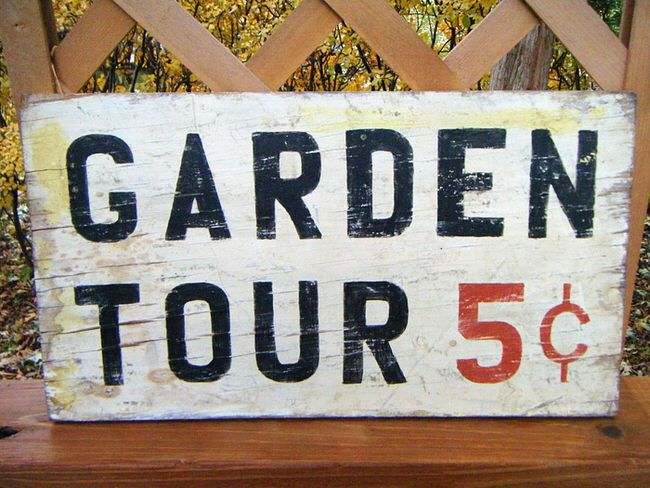 Garden Sign Ideas creative garden sign ideas and projects Creative Garden Sign Ideas And Projects